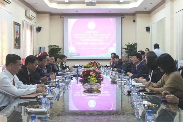 Đồng Tháp ký kết hợp tác lao động với tỉnh Gangwon (Hàn Quốc)
